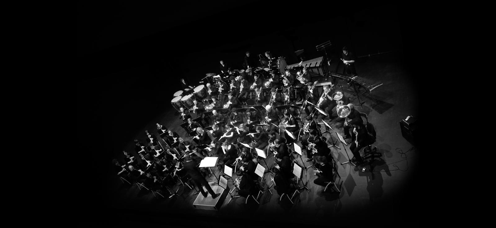 Vue generale de l'orchestre